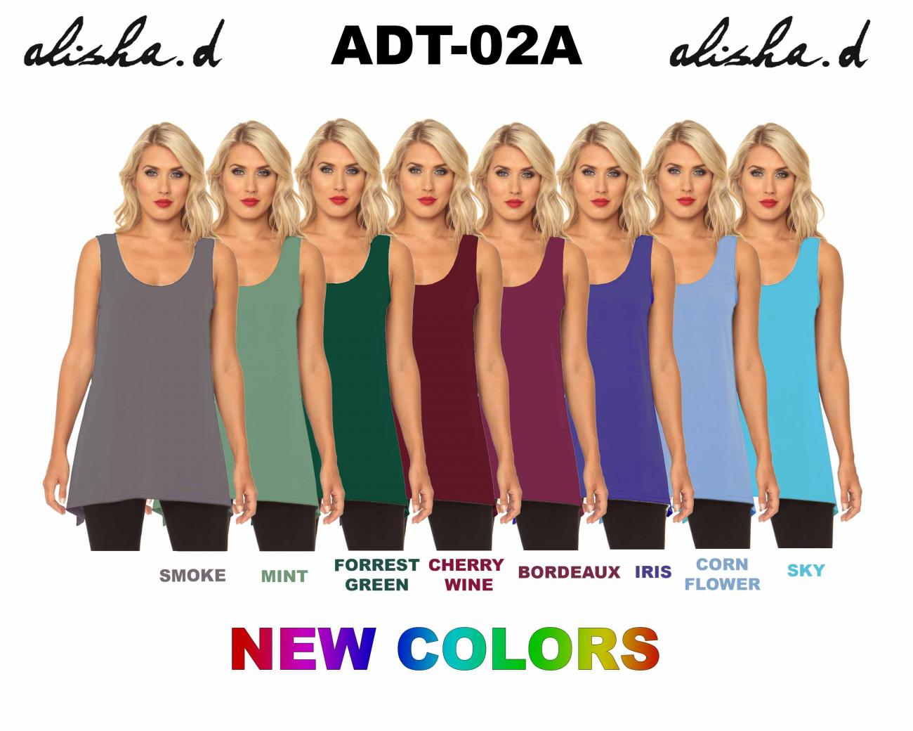 Soft Summer Layering Tank  ADT-02A - TheLittleShopOnline.com
