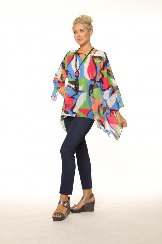 Multi Color Top S1008-602 - TheLittleShopOnline.com